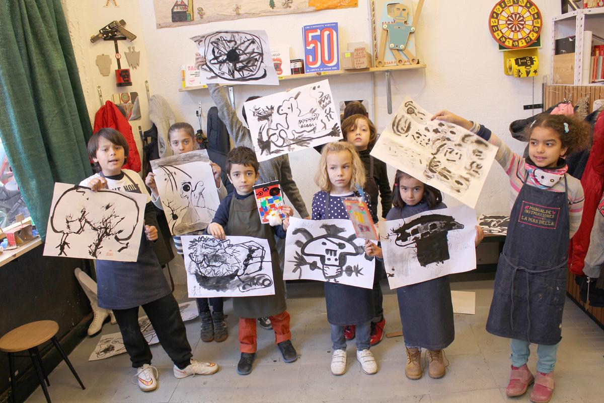 Tinta China -Niños